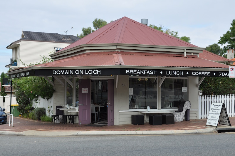 Domain on Loch Nedlands café