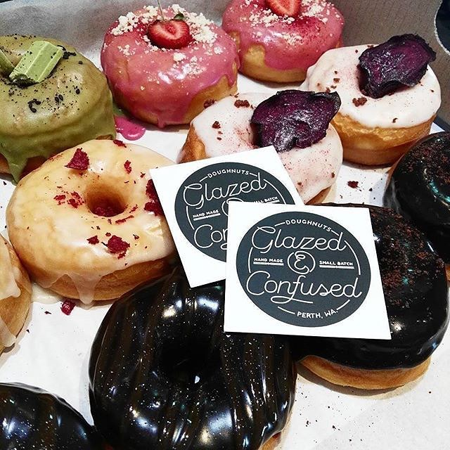 Glazed and Confused donuts