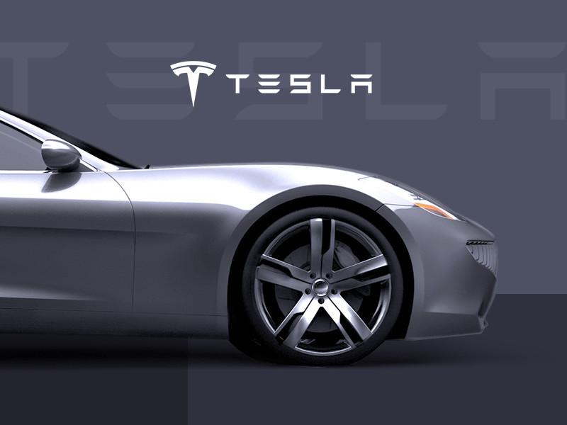 Промосайт Tesla Model S