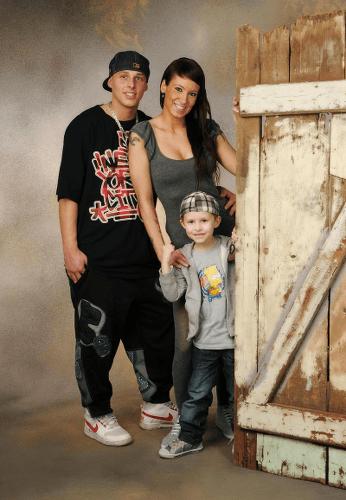 Familien Foto modern