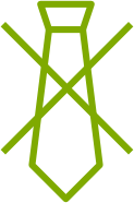 Agile Anti-Krawattenträger Icon