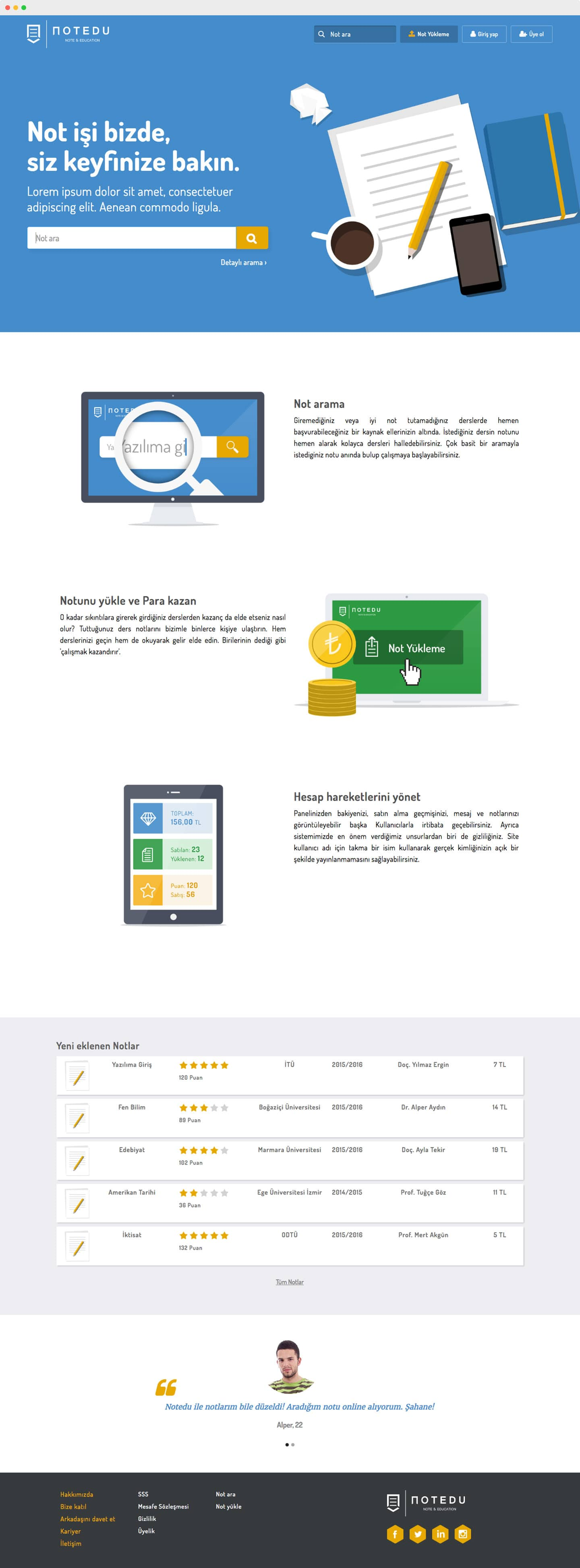 Start-up Web design