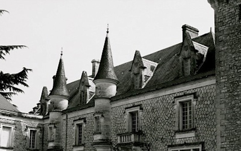 Image of old french chateau where the wood is sourced from
