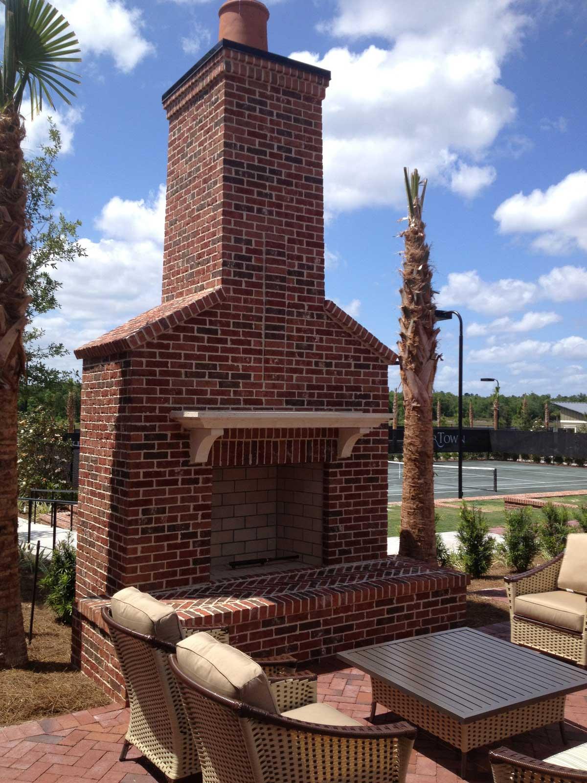 outdoor living jacksonville fl custom fireplaces firepits