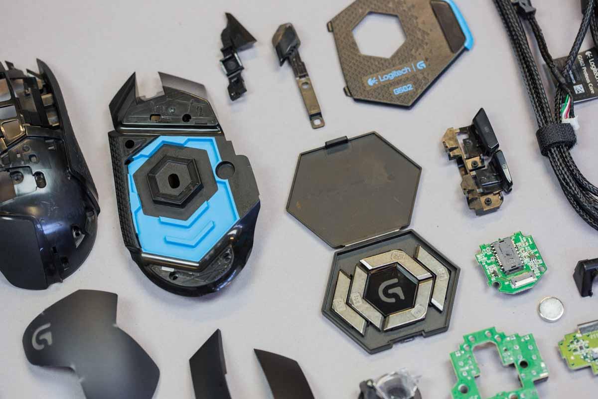 Teardown Showdown Logitech Gaming Mouse Edition G600 Mmo Vs G502 Inside An Optical Electronic Repair Tips Proteus Core
