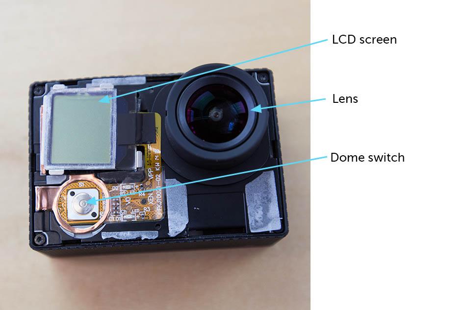 gopro hero 3 lens