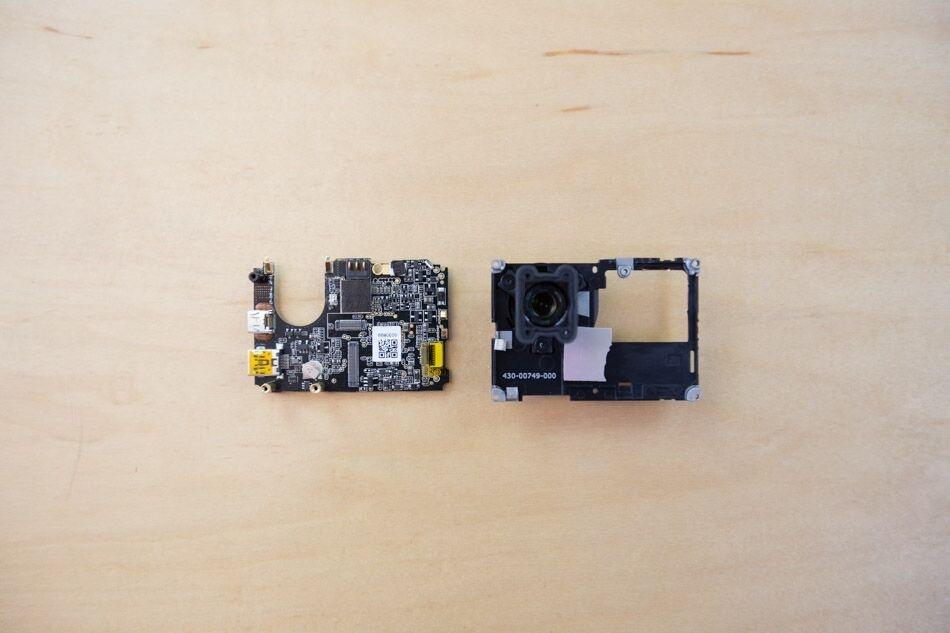 gopro hero 3 circuitboard