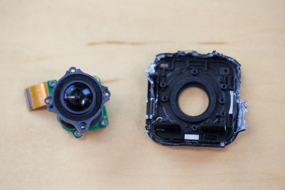 GoPro session lens