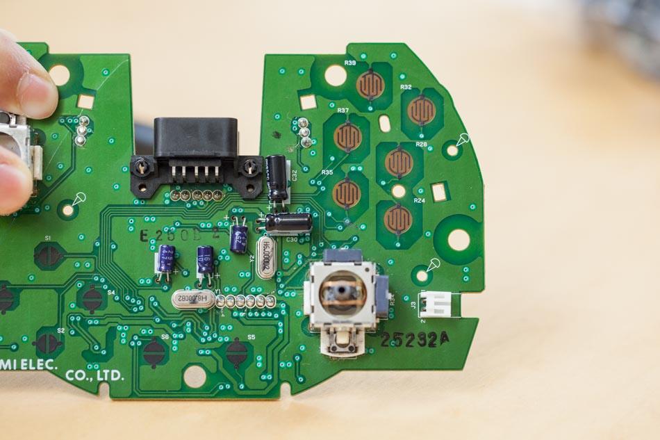 original Xbox controller carbon sticker
