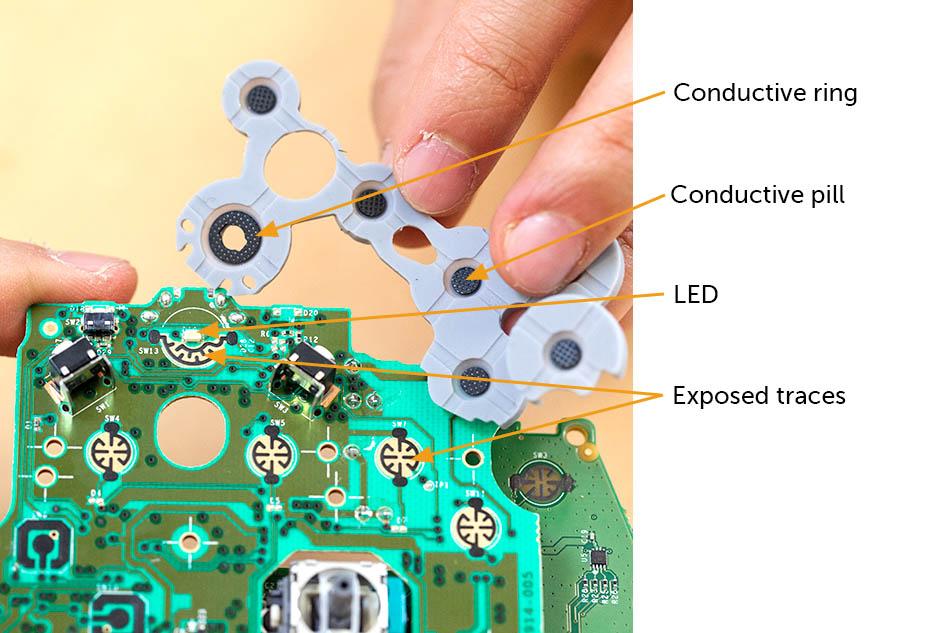 Xbox One conductive pill