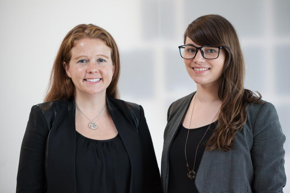 MOTI founders Laura Day (left) and Kayla Matheus (right)