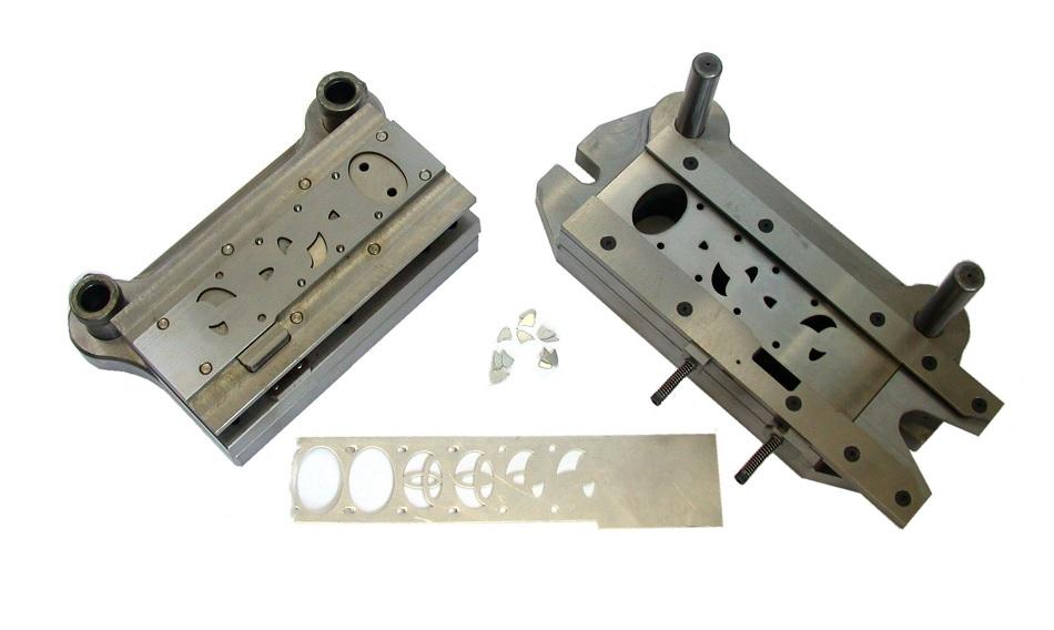 A stamped sheet metal part