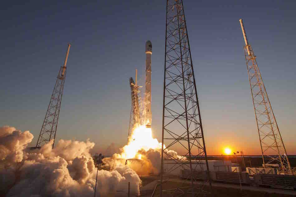 SpaceX 3D-printed the Main Oxidizer Valve body in one of the nine Merlin 1D engines