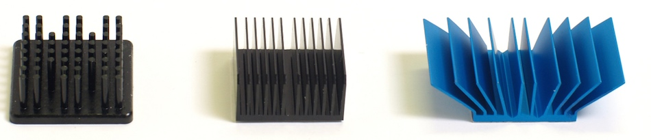 anodized heat sinks