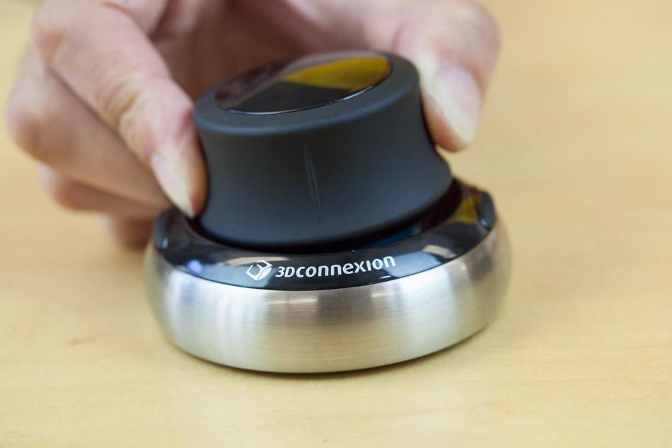 SpaceNavigator 3Dconnexion mouse knob
