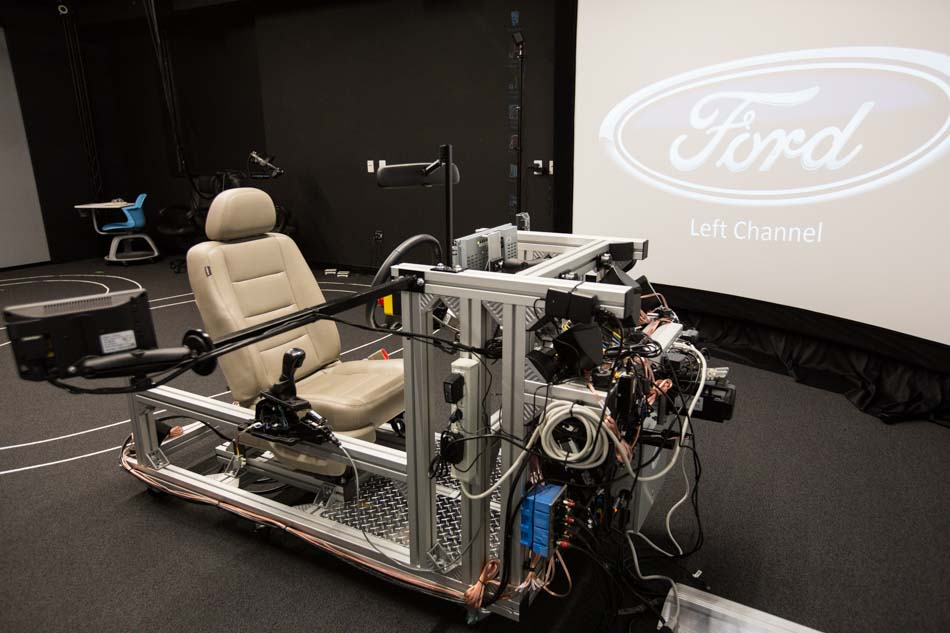 Ford's Autonomous Vehicle Virtual Reality Testing System