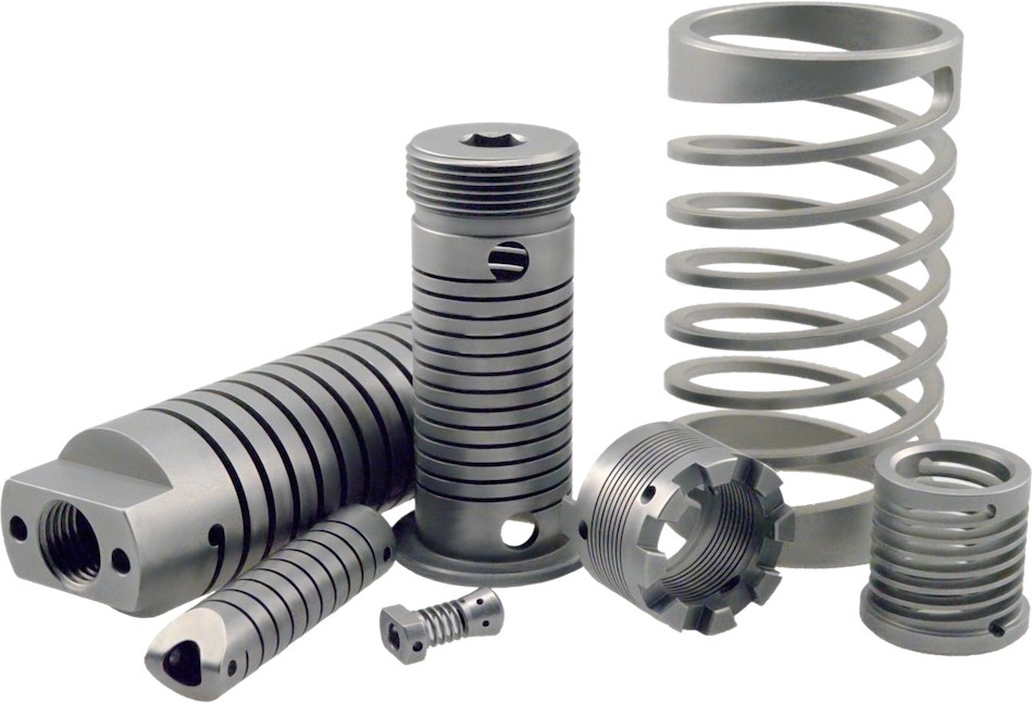 types of machined springs