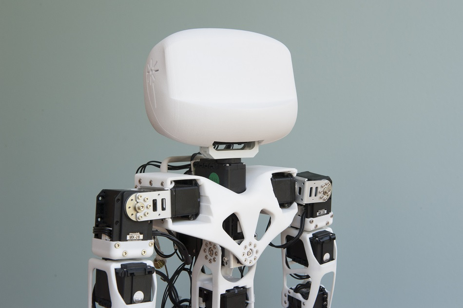open source 3D printed Poppy humanoid robot