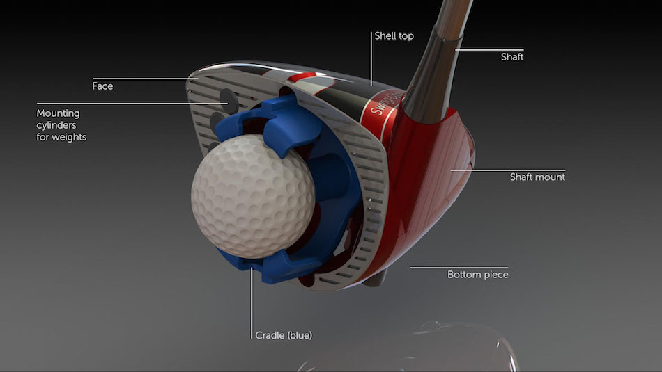 "golf swing training device (the ""swing coach club"")"