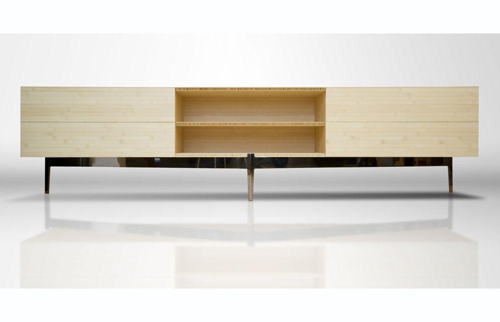 Contemporary Furniture, Bamboo Creenza