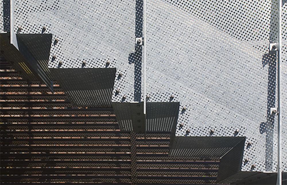 Modern metal Stair, Detail