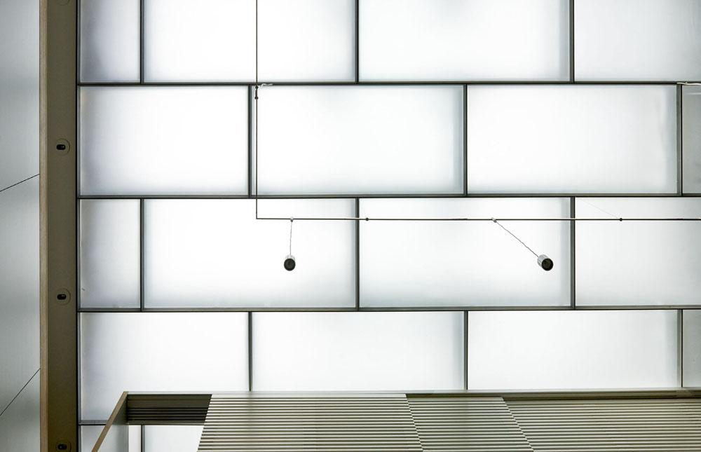 terrace as skylight