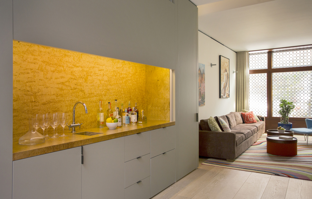 Boston Architects BUTZ + KLUG architecture Beacon Hill Wet Bar