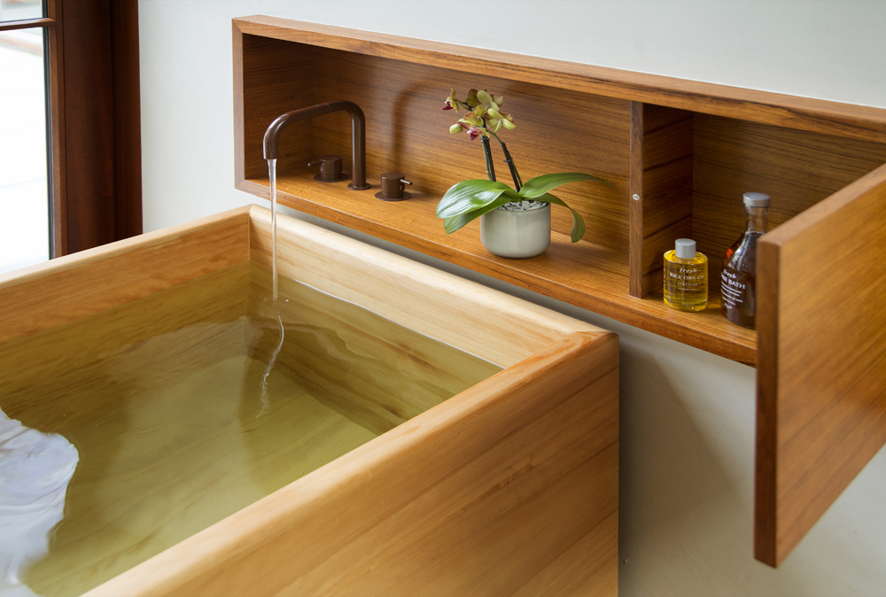 Boston Architects BUTZ + KLUG architecture Beacon Hill Soaking Tub