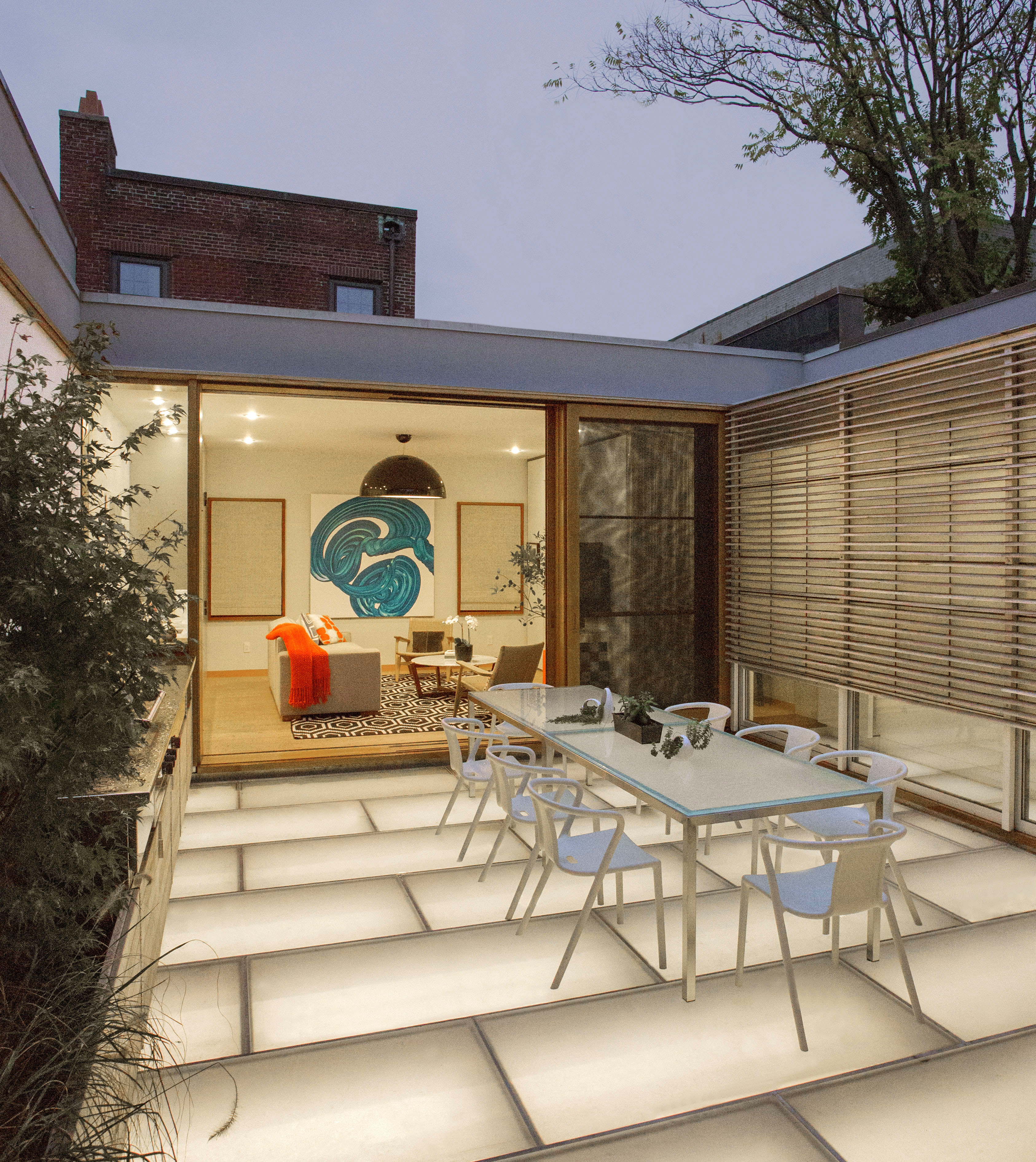 Boston Architects BUTZ + KLUG architecture Beacon Hill Courtyard