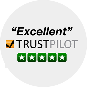Excellent Customer Satisfaction from Trustpilot
