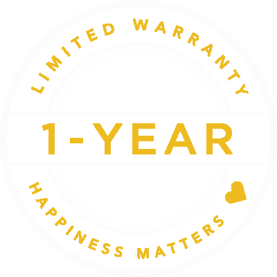 1 year warranty on your custom concrete project.