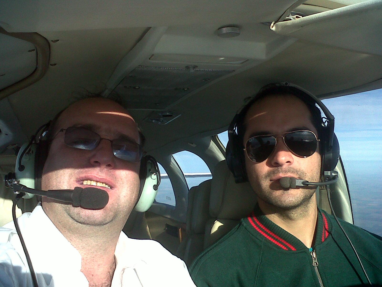 amigos y aviación