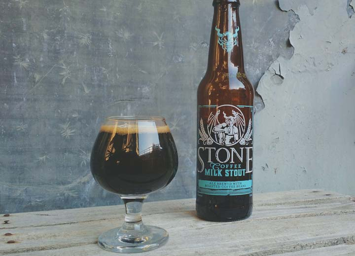 Coffee milk stout par Stone