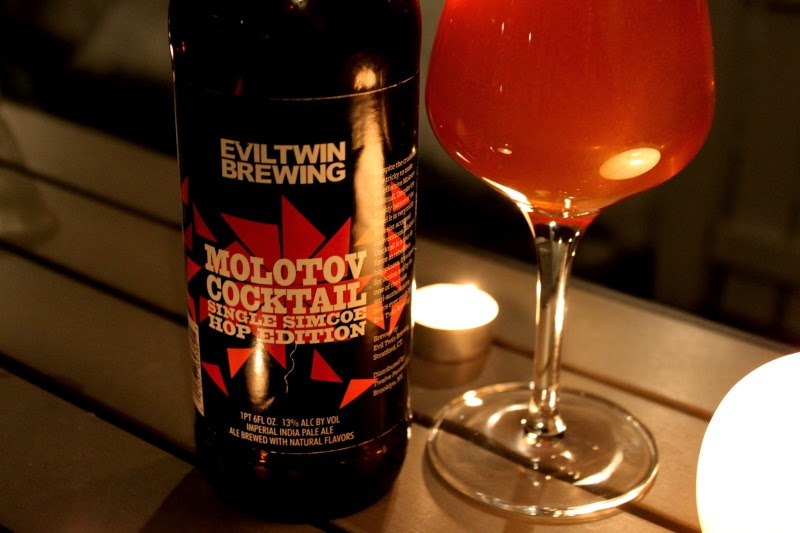 Molotov Cocktail Single simcoe hop edition par Evil Twin