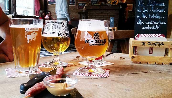 Bar le moeder Lambic à Bruxelles