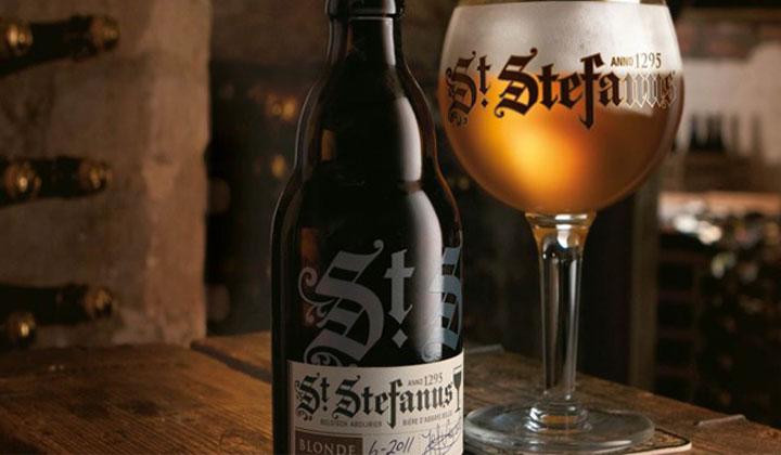 Bière Saint Stefanus de la brasserie Van Steenberge (AB InBev - SAB Miller)