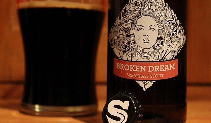 Stout Broken Dream de la brasserie Siren Craft Brew