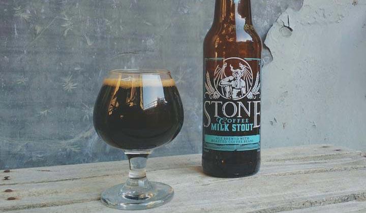 Coffee Milk Stout de la brasserie Stone