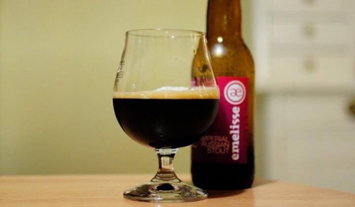La bière IRS Imperial Russian Stout de la brasserie Emelisse