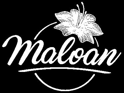 Logo Maloan blanc