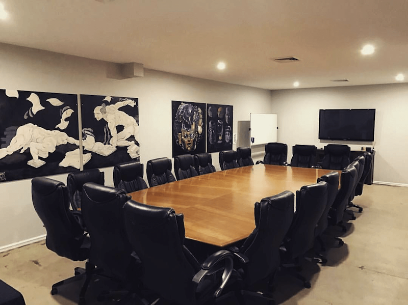 SpacetoCo boardroom space