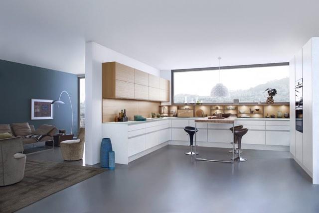 Moderne Grifflose Küchen – Küchenstudio Küche Und Raum