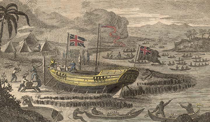 Illustration de l'Empire colonial britannique
