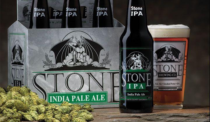 Bière IPA de la brasserie Stone Brewing Co.