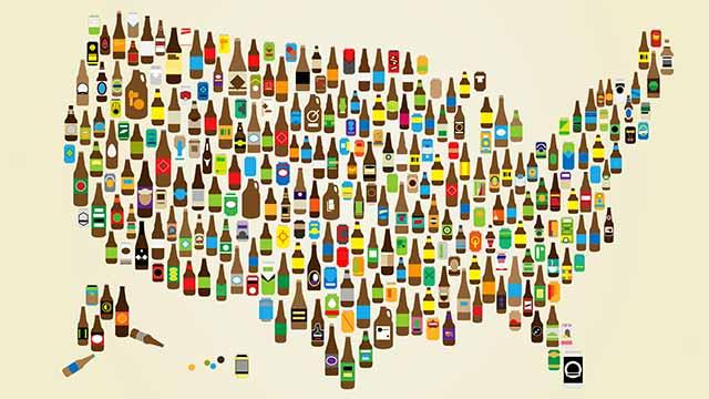 Les 10 plus grandes brasseries craft des États-Unis