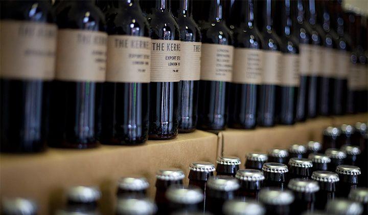 Bières bouteilles de la brasserie anglaise The Kernel
