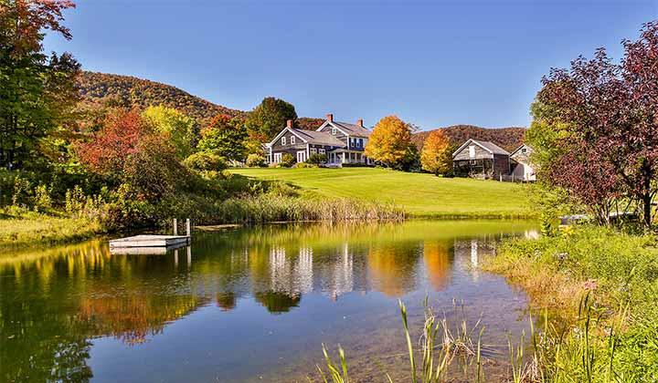 Le Vermont, un état verdoyant