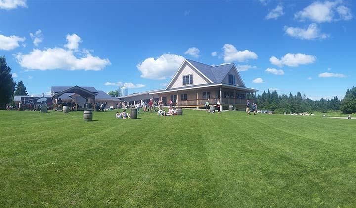 La brasserie Hill Farmstead dans le Vermont