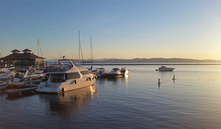 Burlington, sur les bords du lac Champlain