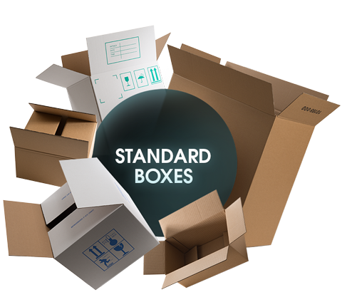 CORRUGATED Standard Boxes